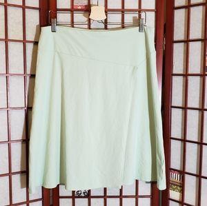 Patagonia faux wrap knee skirt Large